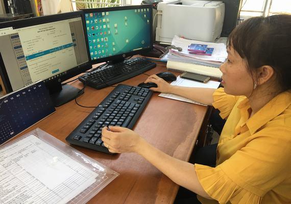 triển khai dịch vụ công trực tuyến KBNN