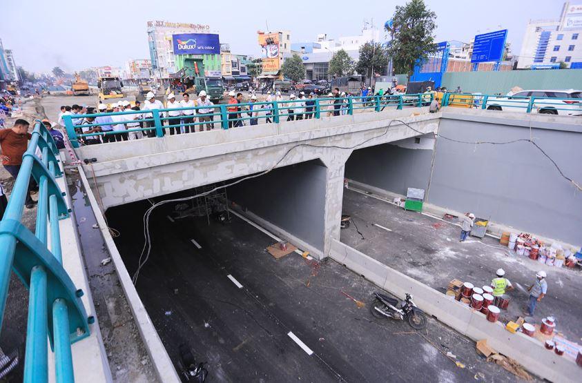 Công trình hầm chui tại thành phố Đà Nẵng